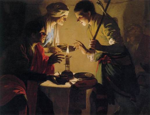 Hendrick ter Brugghen, Esau Selling His Birthright, c. 1627