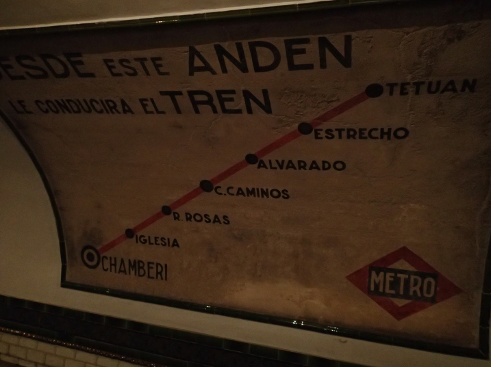 Alli Burness - Chamberi Metro Museum