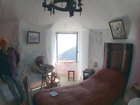 San Nicola castle Miaori bedroom