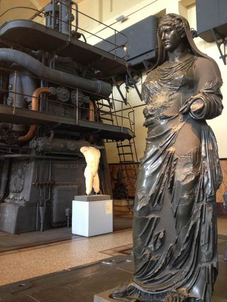Centrale Montemartini powerstation Rome Alli Burness May 2013