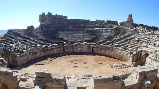 Xanthos amphitheatre - Alli Burness - 2013