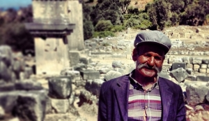 Xanthos ruins - Turkish guide - Alli Burness - September 2013