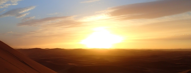 Alli Burness - Sahara Sunset Sand Dunes - Morocco - October 2013