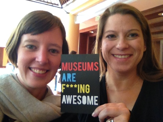 Alli Burness and Dana Allen-Greil at Museum and the Web 2014